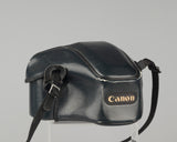 Canon T70 35mm SLR with 50mm f1.8 lens and ever-ready case