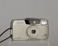 The Canon Prima Zoom Shot (aka Autoboy Juno or Sure Shot 60 Zoom) is a sophisticated 35mm point and shoot from 1995.