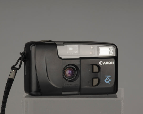 Canon New Snappy EL 35mm camera with case