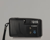 Canon New Snappy EL 35mm camera with case (serial 1129789)