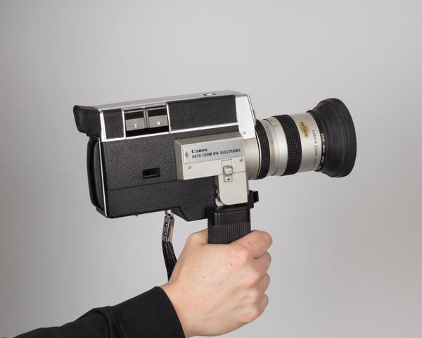 Canon Auto Zoom 814 Electronic Super 8 movie camera