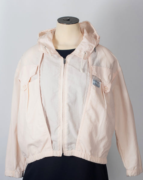 Klimager's pink windbreaker pastel France jacket