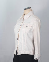 White Levi's denim jacket - xs/s