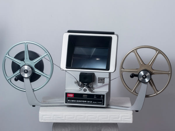 Elmo Editor 912 Dual Type Super 8 and 8mm viewer/editor