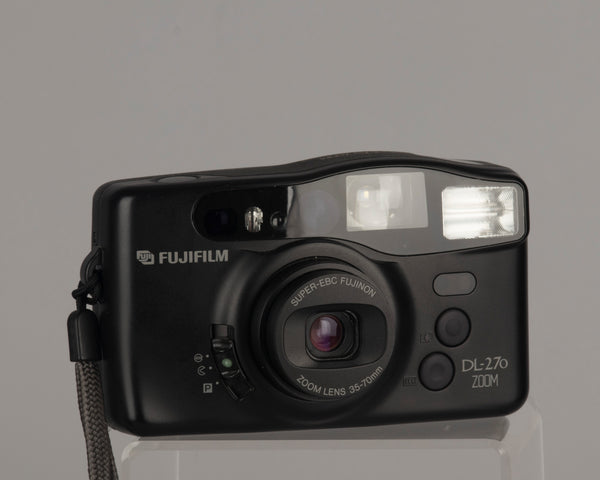 Fujifilm DL-270 Zoom 35mm camera with case (serial 90702255)