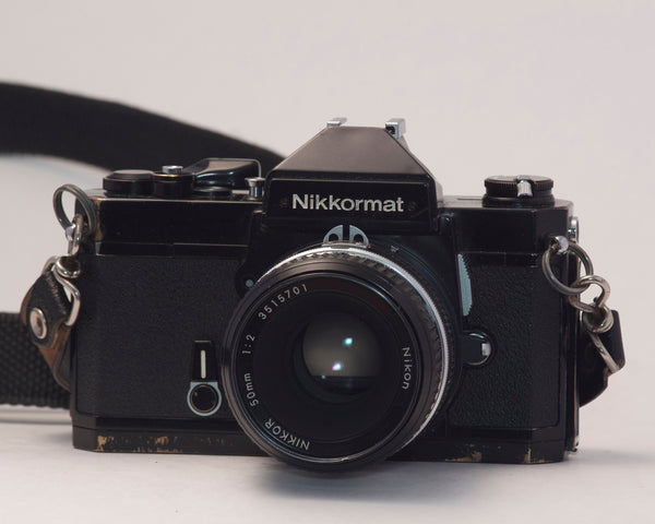 Nikkormat FT3 35mm film SLR + Nikon 50mm f2 lens
