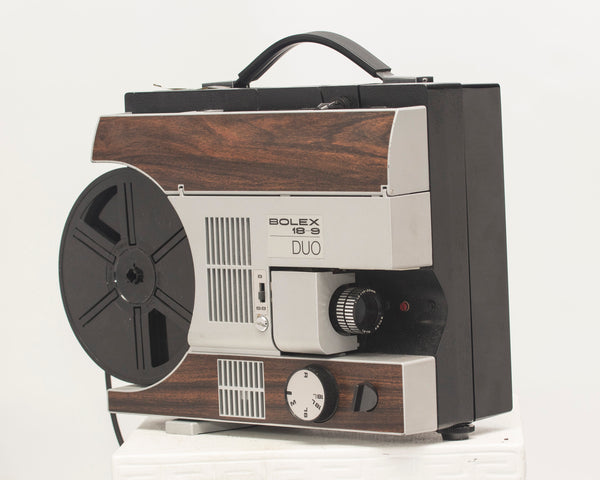 Bolex 18-9 Duo Super 8 + 8mm movie projector