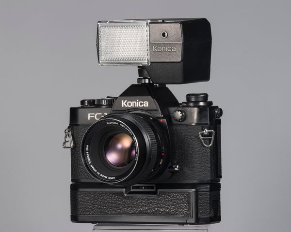 Konica FC-1 35mm film SLR outfit
