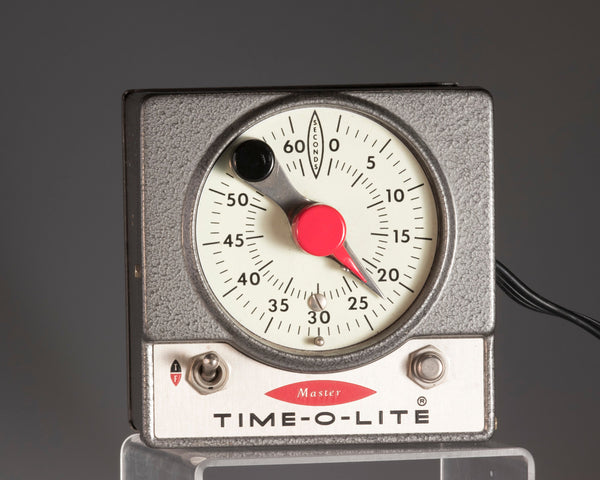 Time-O-Lite vintage darkroom enlarger timer