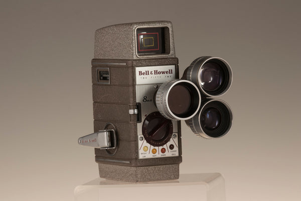 Bell and Howell Two-Fifty-Two 8mm movie camera