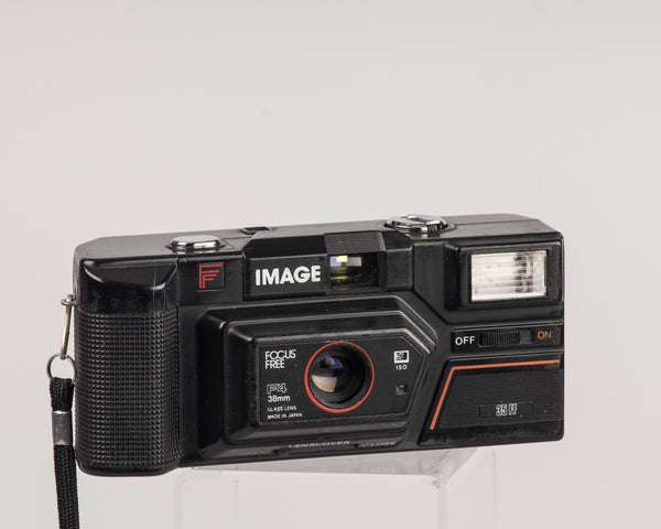 This is the Image 35FF focus free camera. It was also sold as the Premier PC-500 and the Fotorama PC-500