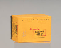 Kodak Brownie Darkroom Lamp Kit Model B (safelights) in original box