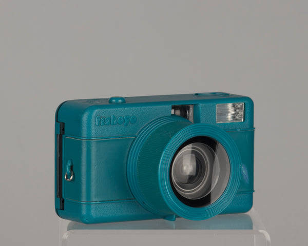 Lomography Fisheye One 35mm film camera turquoise version