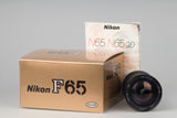 Nikon F65 (aka N65) 35mm film SLR with original box and manual + Tokina AF 28-210mm lens