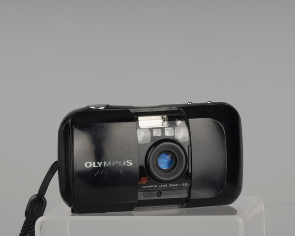 Olympus Mju-1 (a.k.a. Infinity Stylus) 35mm film camera (dusty viewfinder; but film-tested and working great)