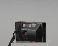 Pentax PC35-AF 35mm camera with suede case and PC35-Winder (serial 4529862)