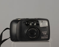 Pentax Espio 738 35mm camera with padded case