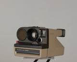 Polaroid Polasonic 4000 (aka One Step Sonar) autofocus instant camera with Polatronic flash