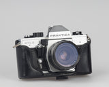 Praktica MTL 5 35mm SLR camera. Made in DDR in the 1980s. It features a metal bladed vertical shutter.