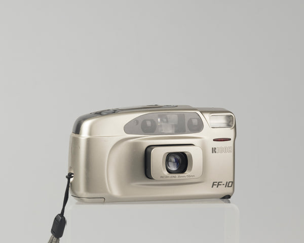 The Ricoh FF-10 AF is a dual focal length 35mm point-and-shoot camera from the early 90's.