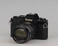 Vivitar VX-5 35mm SLR with Sears 135m f2.8 lens