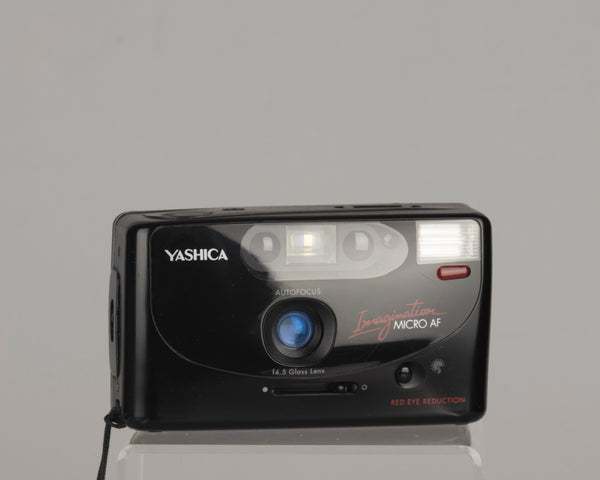 The Yashica Imagination Micro AF is a very compact 35mm point-and-shoot with the 35mm f4.5 lens