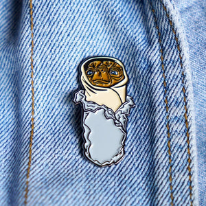 Yesterdays - E.T. Burrito Enamel Pin