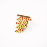 Casey Gray - Wavy Pizza Slice Enamel Pin