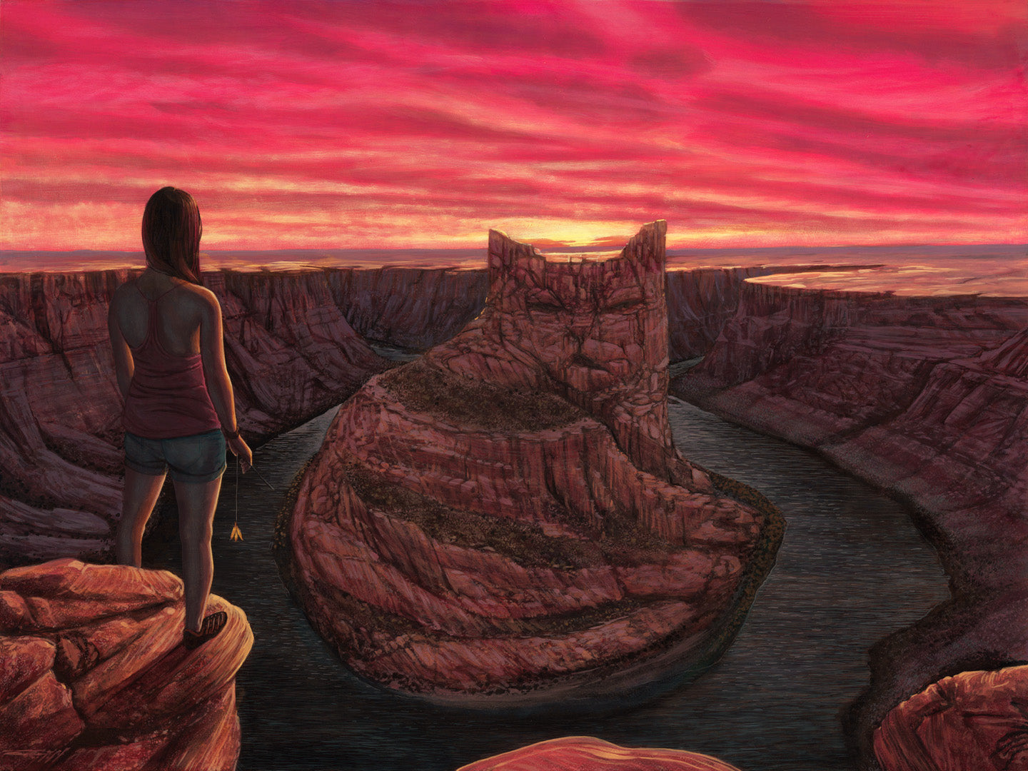 "Casey Weldon - ""Cozy Canyon"""