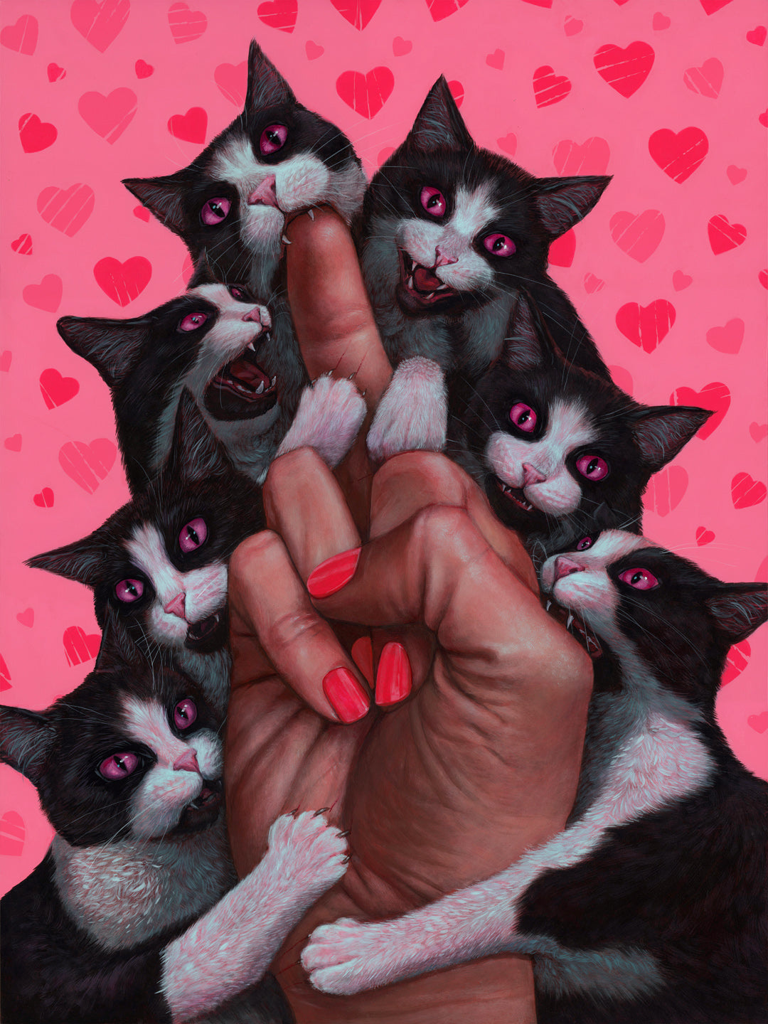 "Casey Weldon - ""Love is Pain"""