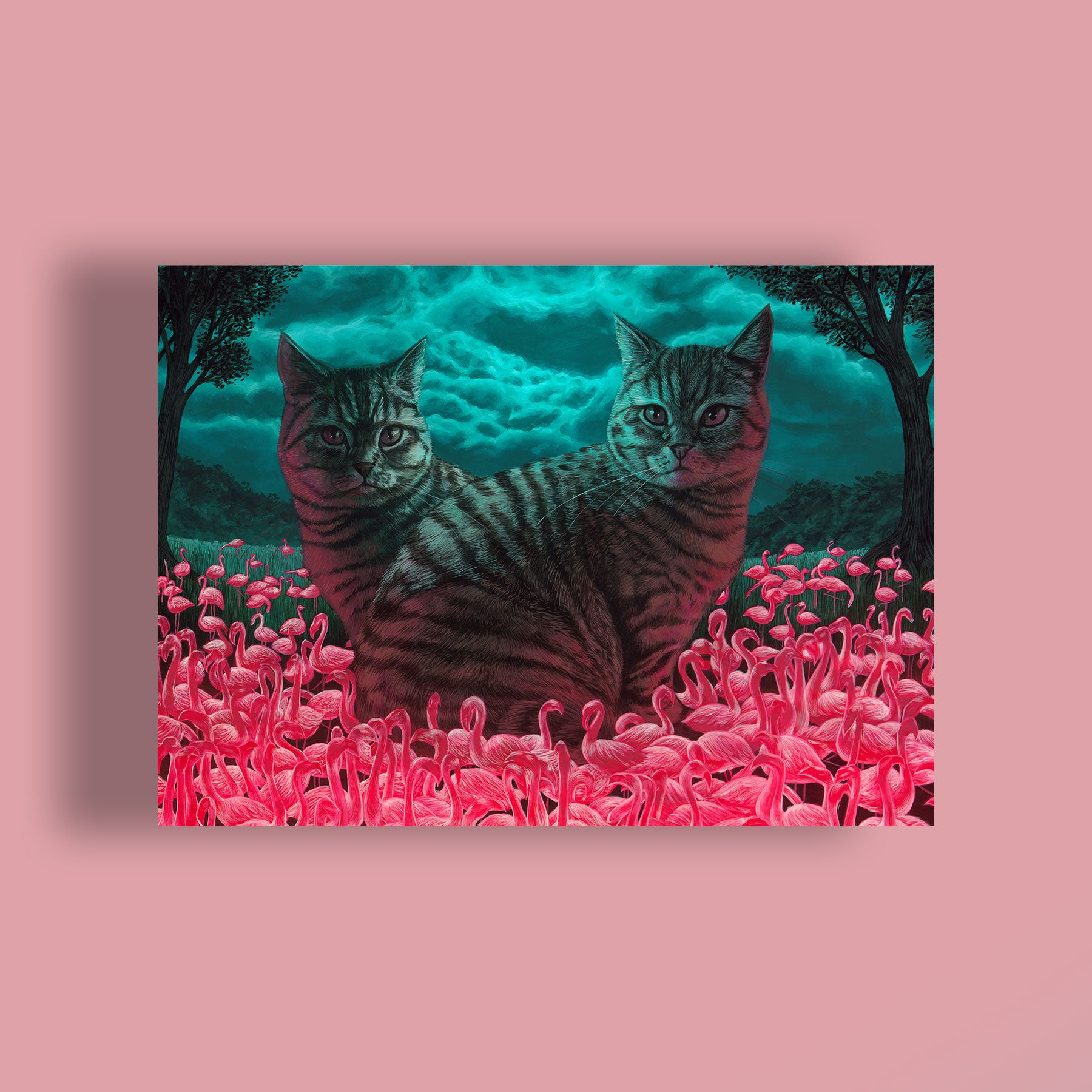 Cat Jigsaw puzzle by Casey Weldon