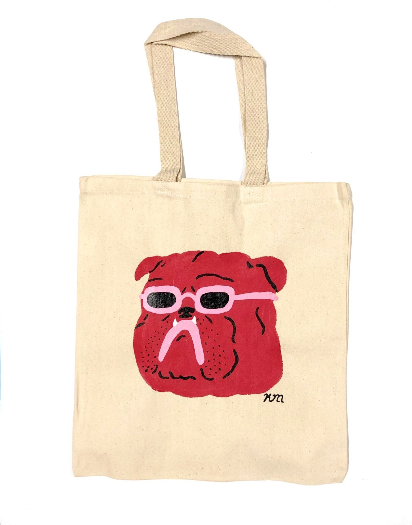 "Kristina Micotti - ""Cool Bulldog"" Tote Bag"