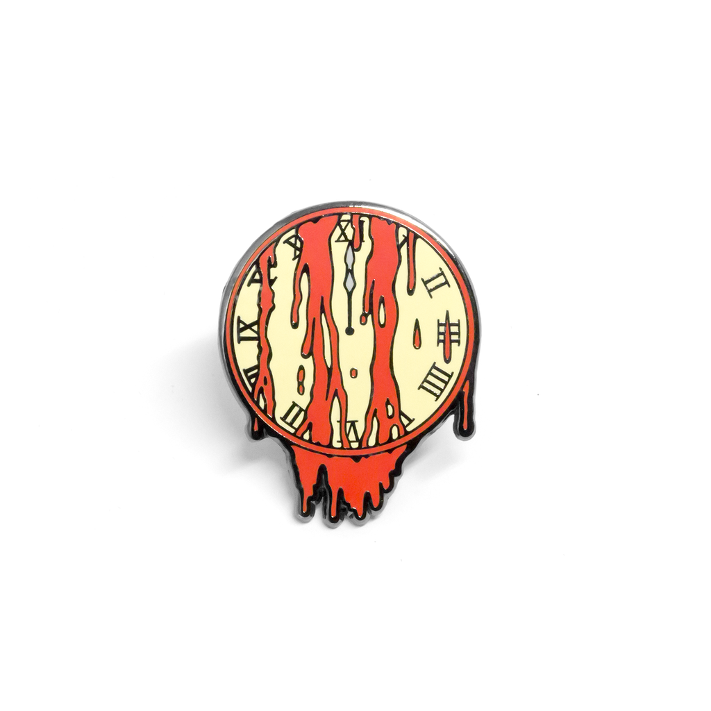 PSA Press - Doomsday Clock Enamel Pin