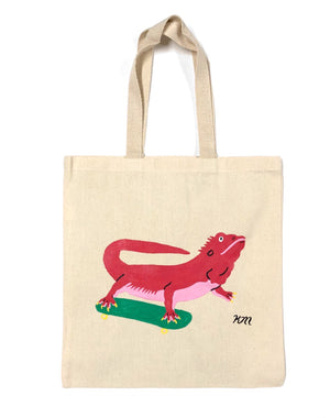 "Kristina Micotti - ""Dragon Skateboarding"" Tote Bag"