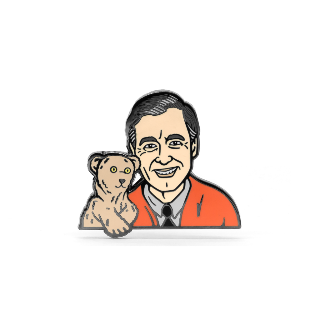 PSA Press - Mister Rogers Enamel Pin