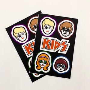 Kids stickers by Matt Ritchie