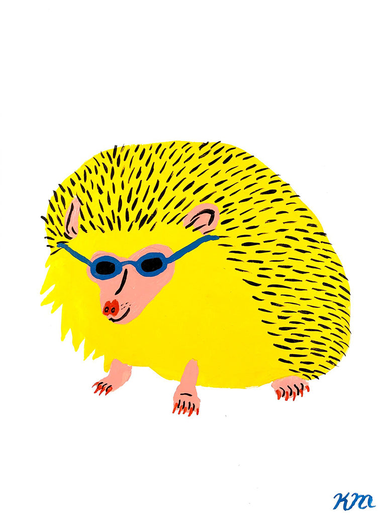 "Kristina Micotti - ""Cool Hedgehog"""