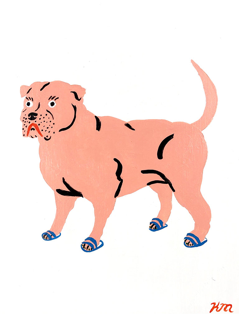 "Kristina Micotti - ""Pitbull Wearing Sandals"""
