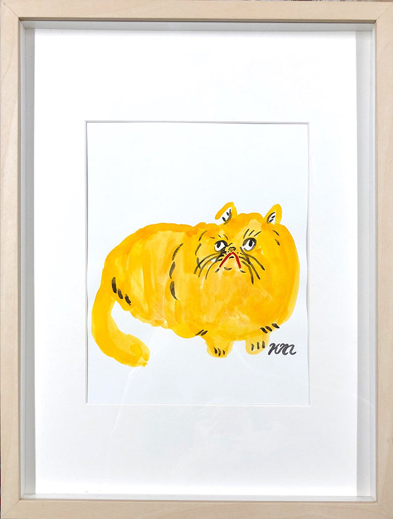 "Kristina Micotti - ""Yellow Cat"""