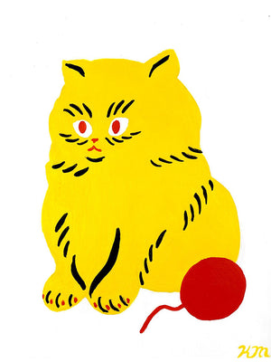 "Kristina Micotti - ""Yellow Kitten"""