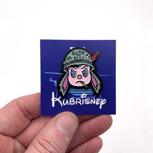 "Matt Ritchie - ""Kubrisney"" Enamel Pin"