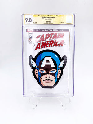 "Matt Ritchie - ""Captain America CGC Comic"""