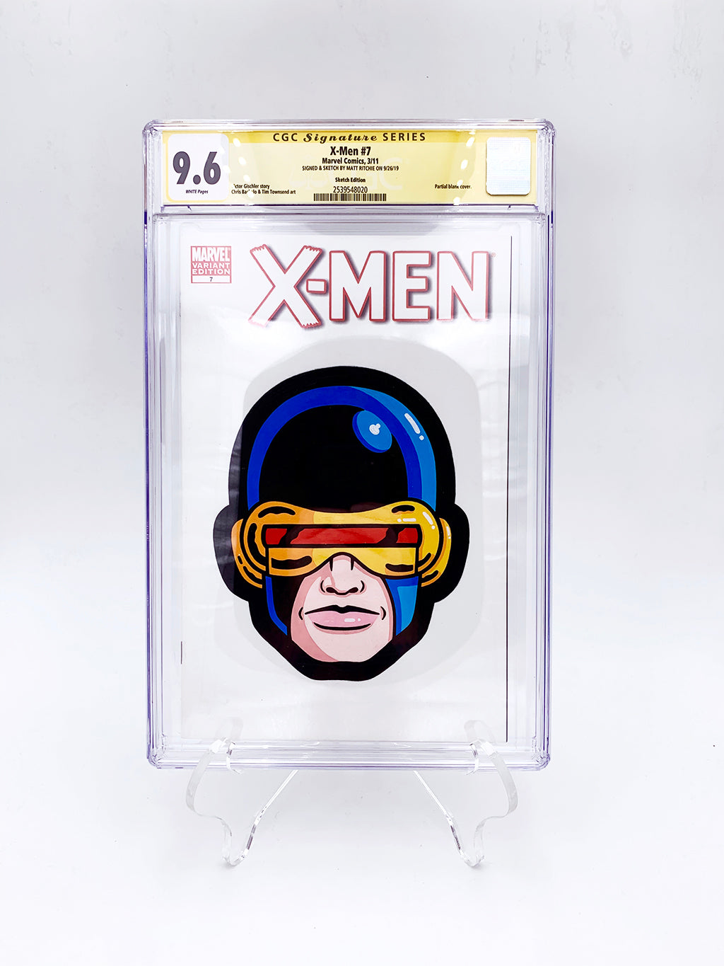 "Matt Ritchie - ""Cyclops CGC Comic"""