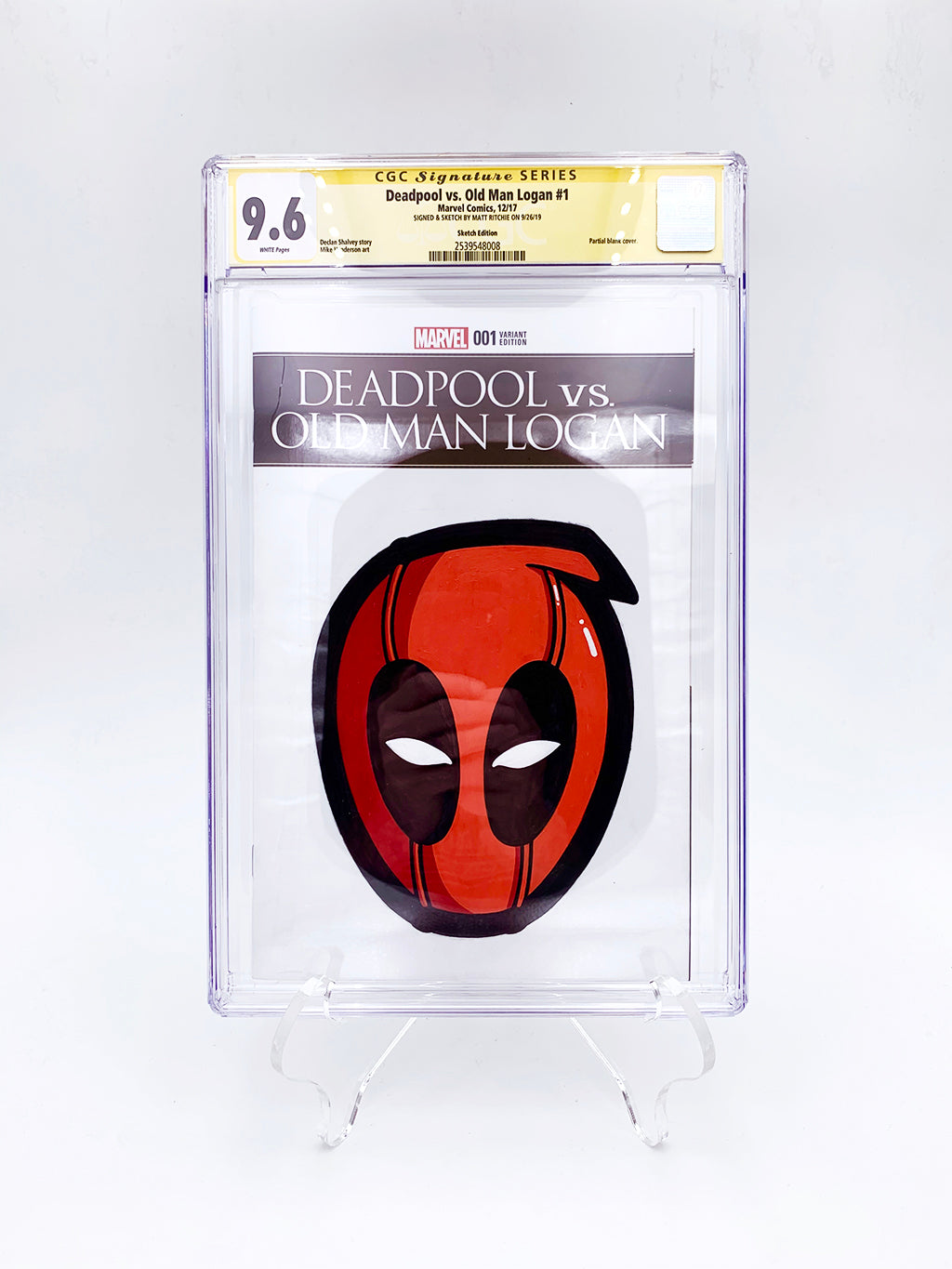 "Matt Ritchie - ""Deadpool CGC Comic"""