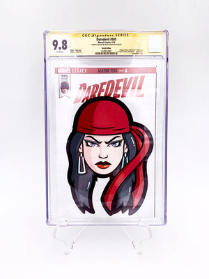 "Matt Ritchie - ""Elektra CGC Comic"""