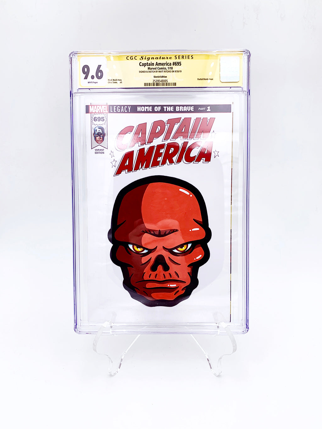 "Matt Ritchie - ""Red Skull CGC Comic"""