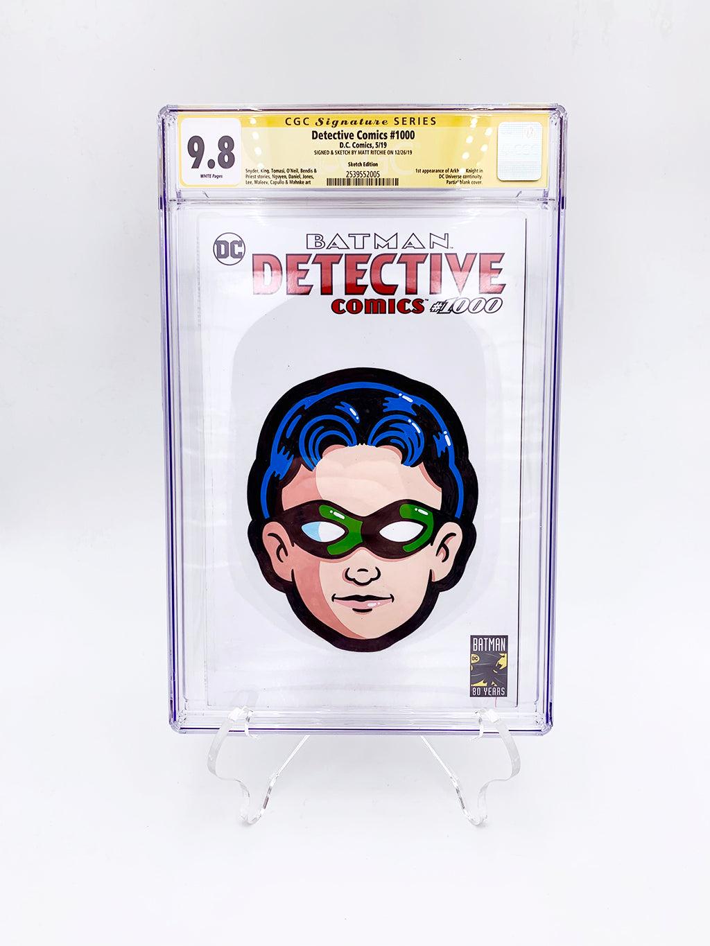 "Matt Ritchie - ""Robin CGC Comic"""