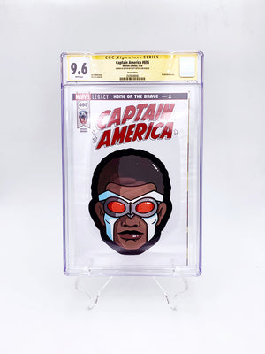 "Matt Ritchie - ""Sam Wilson Captain America CGC Comic"""