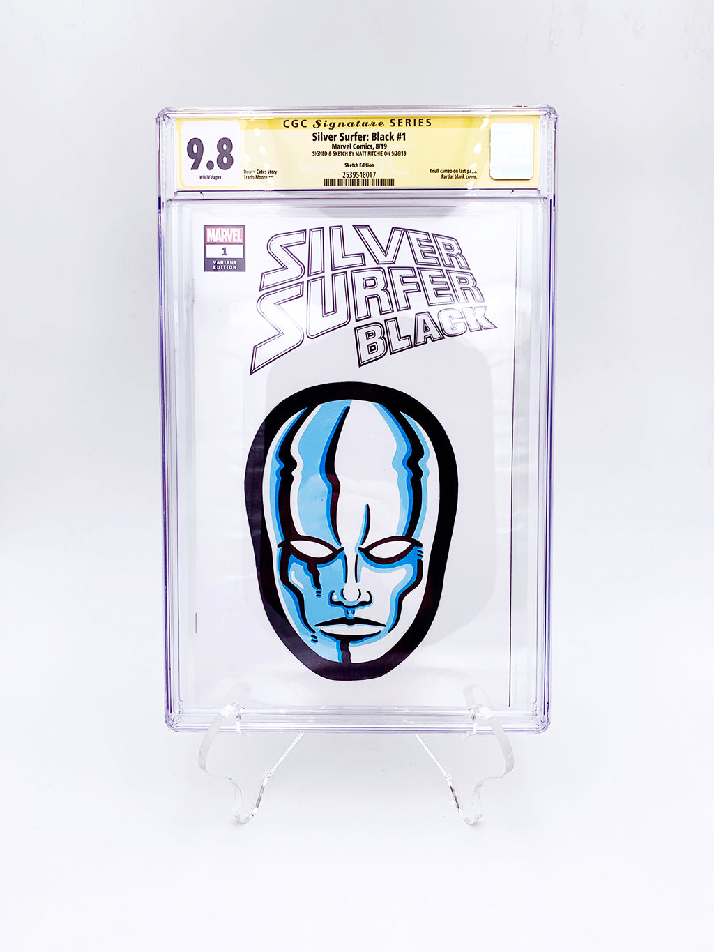 "Matt Ritchie - ""Silver Surfer CGC Comic"""