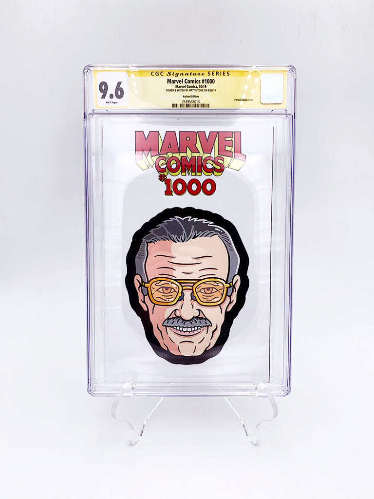 "Matt Ritchie - ""Stan Lee CGC Comic"""